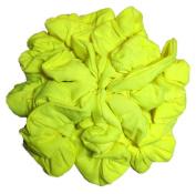 Cotton Scrunchie Set, Set of 10 Soft Cotton Scrunchies, Solid Colour Packs