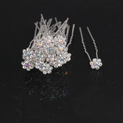 Leoy88 20pcs Bling Hairpin for Wedding Bridal