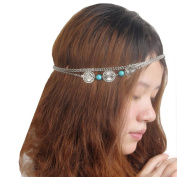 Leoy88 1pc Retro Women Head Chain