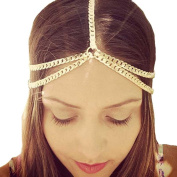 Leoy88 Women Metal Head Chain Simple Design