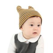 FEITONG Toddler Kids Baby Boys Girls Stripe Knitted Winter Warm Hat Cap