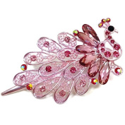 Peacock Hair Clip :SP5 (2PINK)