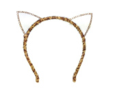 Crystal Diamond Rhinestone Party Cat Ear Headband :SP1