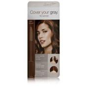 Cover Your Grey By Irene Gari Hair Mascara Wand Dark Brown. - By Irene Gari - 7G