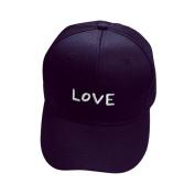 Sport Cap, HP95(TM) Love Words Embroidery Cotton Baseball Cap Boys Girls Snapback Hip Hop Flat Hat
