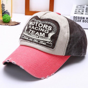 Sport Cap, HP95(TM) New Boys Girls Baseball Cap Cotton Motorcycle Cap Edge Grinding Do Old Hat
