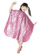 WM BEAUTY Child Salon Hairdressing Hair Cutting Gown Kiddie Cape Pink