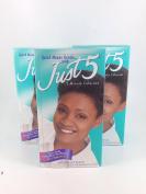 3PCS- Just 5 Women's Hair Colour, Jet Black