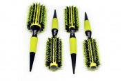 Best Hair Brush Professional Round Brushes Set Salon Use by ALPHA NEW YORK