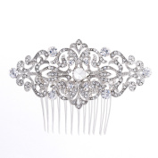 Rhinestone Crystal Hair Comb,Bridal Wedding Hairpin,Side Hair Comb,Hair Accessories Jewellery FA5018