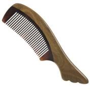 Silentrees Sandalwood No Static Detangling Natural Aroma Handmade Buffalo Horn Comb