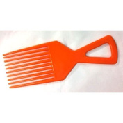 Afro Comb De-tangle Hair Brush Colours Red Orange Blue Yellow