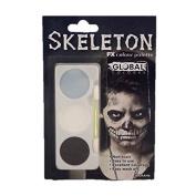 Global Body Art FX Colour Palette - Skeleton