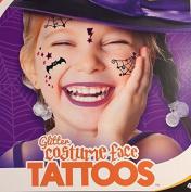 Savvi Glitter Costume Face Tattoos
