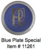FLORI ROBERTS Mineral Eye Shadow - Blue Plate Special [11261]