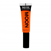 Moon Glow - Blacklight Neon Eye Liner 10ml Orange – Glows brightly under Blacklights / UV Lighting!