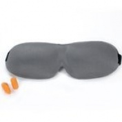 LASH EXTENSION SAFE! PremierLash Sleep Mask - Grey