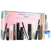 Sephora Favourites Lashstash - A multibranded mascara sampler set that allows a client to try eight deluxe mascaras and two full-size mascaras