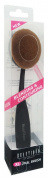 Beautique XL Oval Brush 59002, Toothbrush Makeup Brush, Foundation, Concealer, Cream, Loose Powder.