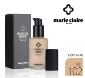 [Marie Claire] Long Wear Liquid Foundation SPF31 PA ++ 30ml / NO.102 Ivory Warm / whitening, wrinkles / Korean Cosmetics