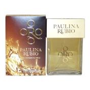 Paulina Rubio Oro By Paulina Rubio For Women. Eau De Parfum Spray 3.3 Oz / 100 Ml