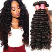 Beauty Forever 6A Virgin Brazilian Hair Deep Curly Wave Bundles 100% Unprocessed Human Hair Extensions