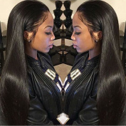 Brazilian Straight Hair 3 Bundles Grade 7A Unprocessed Virgin Human Hair Weave Extensions Natural Colour Length