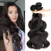 8A Grade Brazilian Body Wave Hair 3 Bundles (Natural Colour, 30cm 36cm 41cm , 300g) Remy Hair Extensions Brazilian Hair Weave Body Wave Hairstyles Cheap Brazilian Virgin Hair Weaves