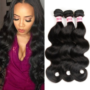 Fabeauty 7a Peruvian Virgin Hair Body Wave 3 Pcs Lot Cheap 100% Unprocessed Human Hair Extensions Peruvian 100% Human Hair Body Wave 3 Bundles