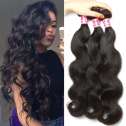 Belinda Hair Malaysian Body Wave Virgin Hair 3 Bundles Unprocessed 100% Virgin Hair Human Hair Extensions Natural Black Colour