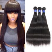 HC Diva 7A Peruvian Virgin Hair Straight Remy Hair Bundles Unprocessed Virgin Hair Silky Human Hair Extensions 3 Bundles