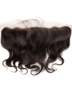 abHair® 20cm Indian Remy Body Wave Virgin Human Hair Free Part 13*4 Full Lace Frontal Closure, Bleach Knots with Unprocessed 100% 6A Baby Hair, Full Bottom, Ear to Ear, Natural Colour