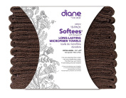 Softees Towels with Duraguard, Chocolate, 10pk by Fromm International BEAUTY