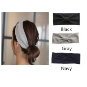 AUSKY 3Pcs Material, Sweat Wicking, Best Looking Head Band for Fashion, Yoga and Exercise