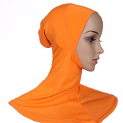 ETOSELL Muslim Women Hijab Scarf Hat Cap Islamic Scarves Neck Cover Head Band