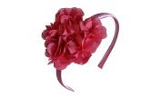Cleo Headband Shabby Chic Chiffon Big Heart Love Girls Headband Fashion Hair Accessories