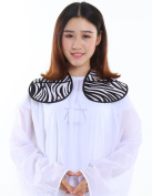Hairdressing Cutting Collar, Salon Neck Shield - Zebra Print