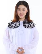 Hairdressing Cutting Collar, Salon Neck Shield - Zebra Print