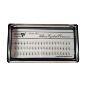 5D Volume Synthetic Mink Eyelash Extension-D curl/ 0.07 Thickness/8mm-15mm 6 size/60 Clusters per Tray