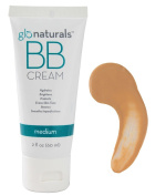 Glonaturals BB Cream - Medium Colour - Non-GMO -- 60ml