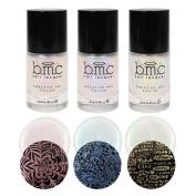 BMC Shimmery Creative Nail Art Shimmery Stamping Polish - Moonbeams Collection