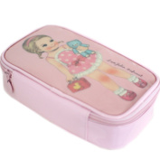 Afrocat Paper Doll Mate Make Up Pouch M Cosmetic Travel Case