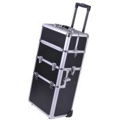 Cosmetic Makeup Case Aluminium Rolling Train