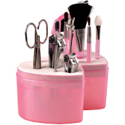 ETTG All-in-One Manicure Pedicure and Nail-clippers Kit Makeup Set with Apple-shaped Pack