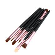 Willtoo 6PCS Cosmetic Makeup Brush Lip Makeup Brush Eyeshadow Brush
