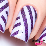 Whats Up Nails - Straight Tape Nail Stencils Stickers Vinyls for Nail Art Design