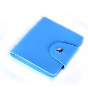Sandistore 32 Slots Nail Art Stamp Plate Stamping Plates Holder Storage Bag Cases Bag