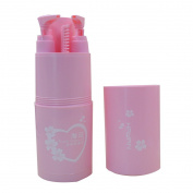 Mily Travel kits Travel Wash Supplies Toothbrush Box 5Pcs Pink