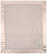 "My Blankee Luxe Snail Baby Blanket, 14"" x 17"", Tan"