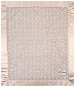 "My Blankee Luxe Snail Baby Blanket, 14"" x 17"", Tan"